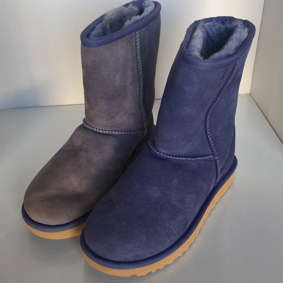 e5ef2e6a39bd ❤️CLEARANCE ❤️New Ugg Classic Suede BOOT blue Sz 5